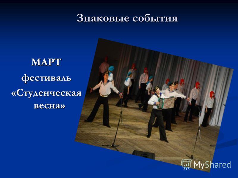 МАРТ фестиваль «Студенческая весна»