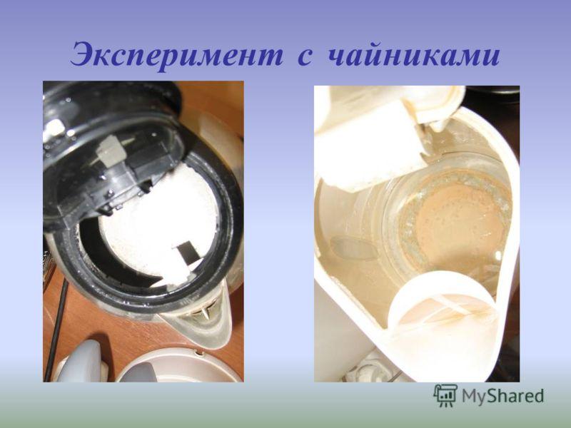 Эксперимент с чайниками