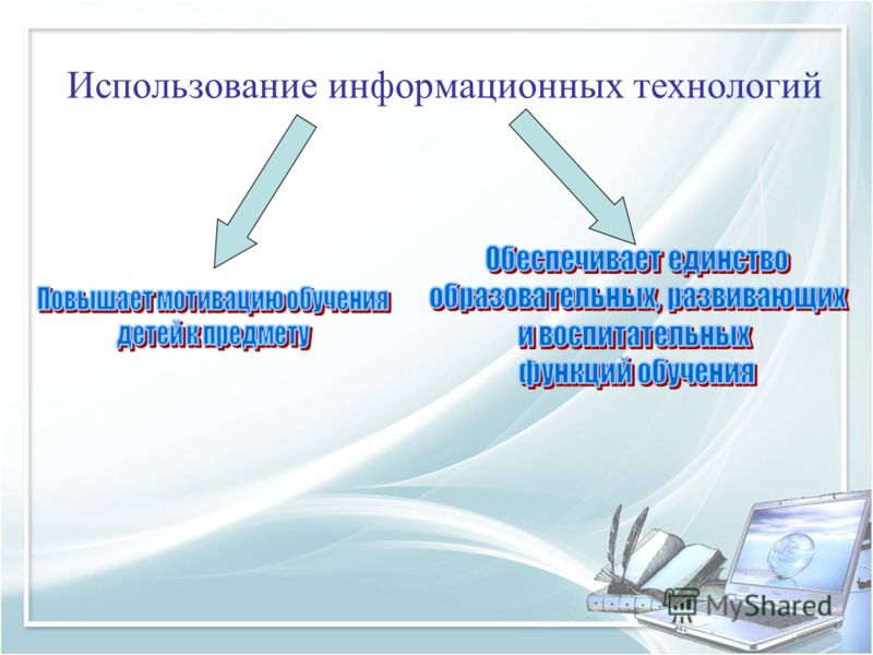 Использование информационных технологий