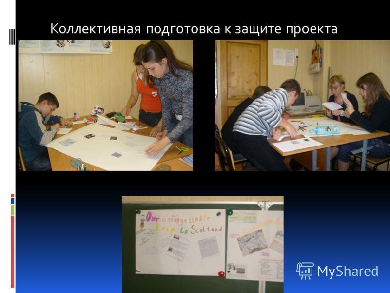 Коллективная подготовка к защите проекта