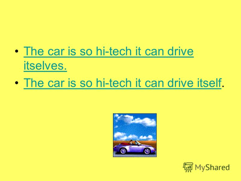 The car is so hi-tech it can drive itselves.The car is so hi-tech it can drive itselves. The car is so hi-tech it can drive itself.The car is so hi-tech it can drive itself