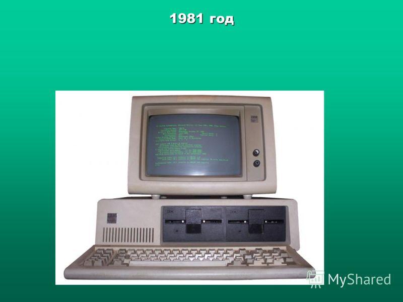 1981 год