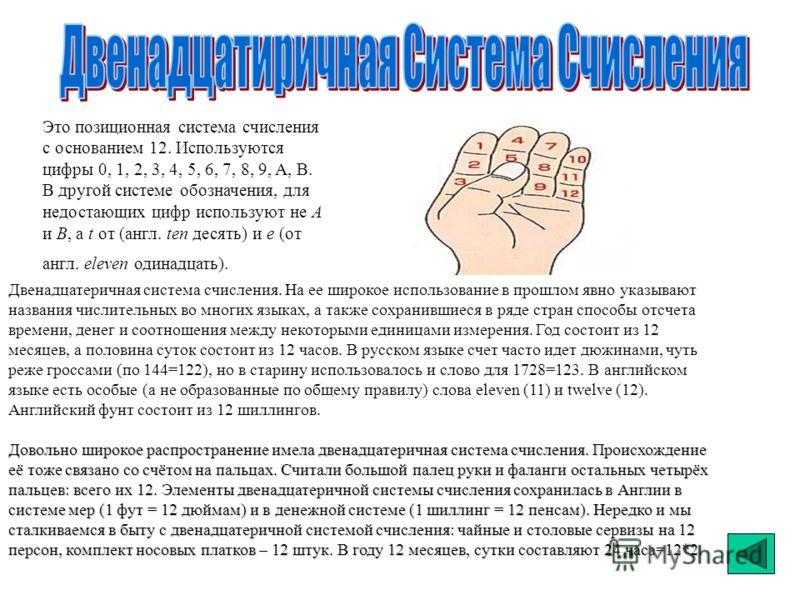 СложениеВычитаниеУмножение 0+0=00-0=00*0=0 1+0=11-0=11*0=0 0+1=11-1=00*1=0 1+1=1010-1=11*1=1 Двоичная система счисления является основной системой представления информации в памяти компьютера. В этой системе счисления используются цифры: 0, 1. Над чи