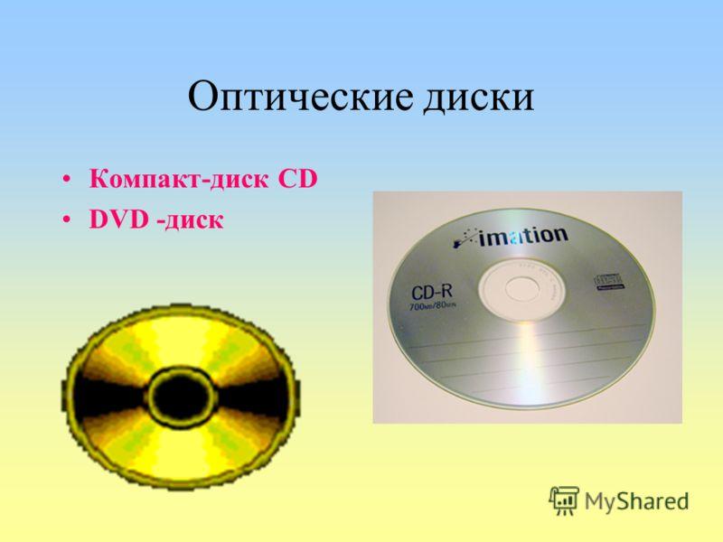 Оптические диски Компакт-диск CD DVD -диск