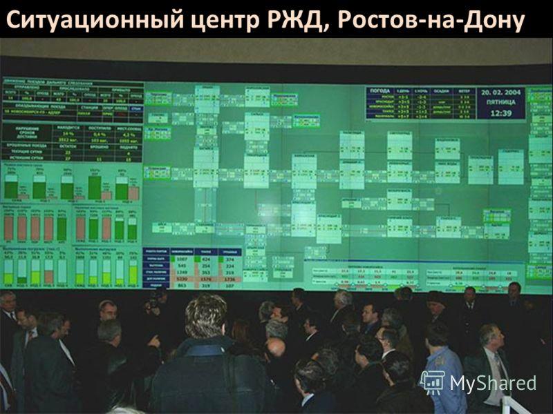 Ситуационный центр РЖД, Ростов-на-Дону