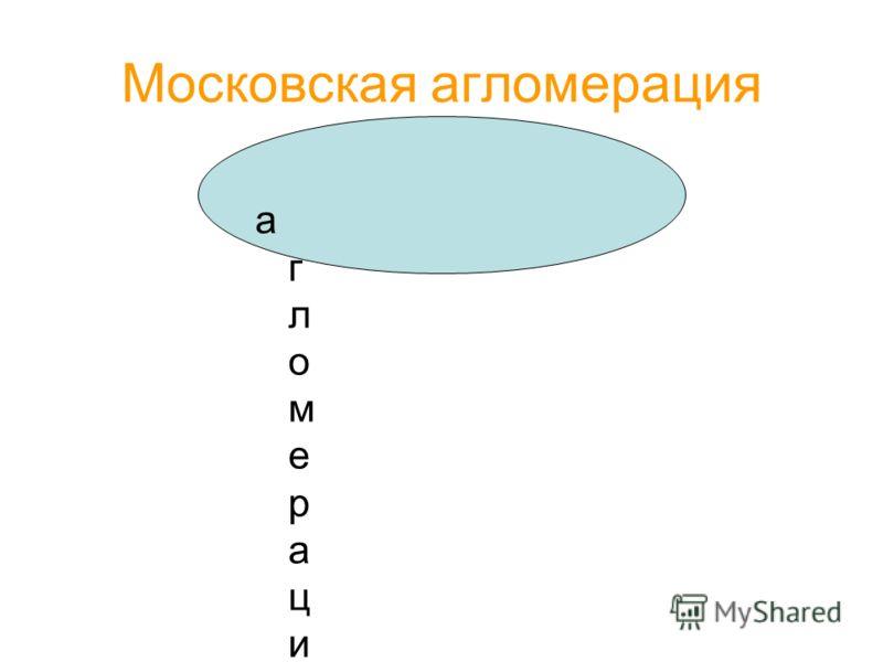Московская агломерация агломерацияагломерация