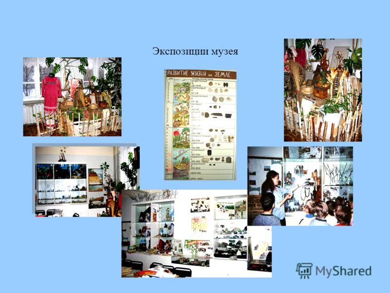 Экспозиции музея
