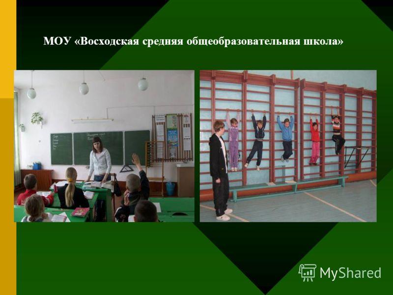 МОУ «Восходская средняя общеобразовательная школа»