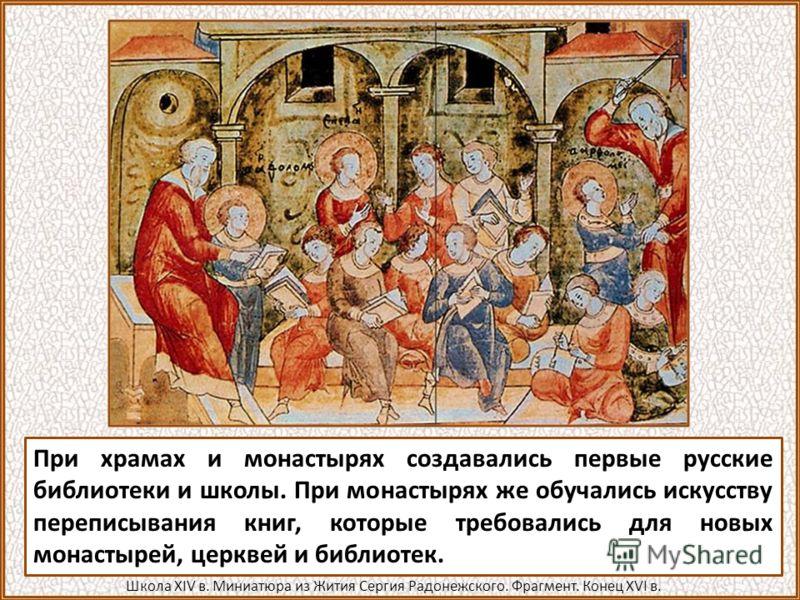 Поначалу книги привозились из православных стран Византии и Болгарии. Затем их стали писать и на Руси. В