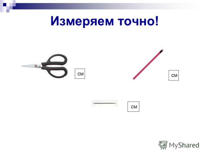 Измеряем точно! см