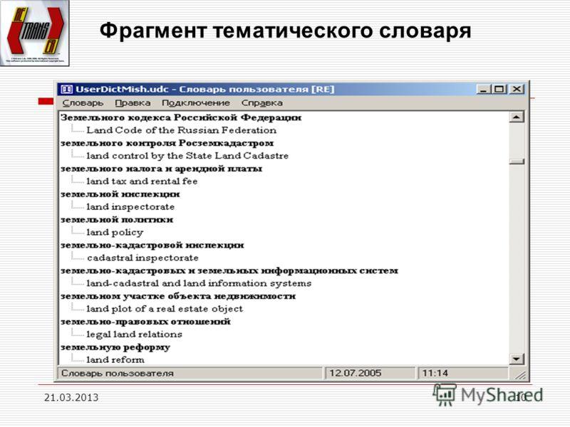 21.03.201310 Фрагмент тематического словаря