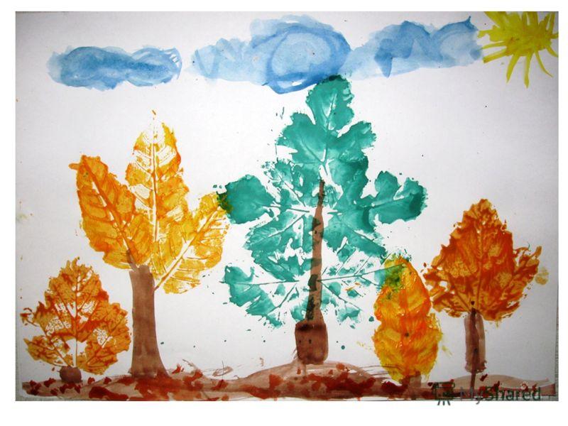 Детские картинки на тему осень 6 7лет