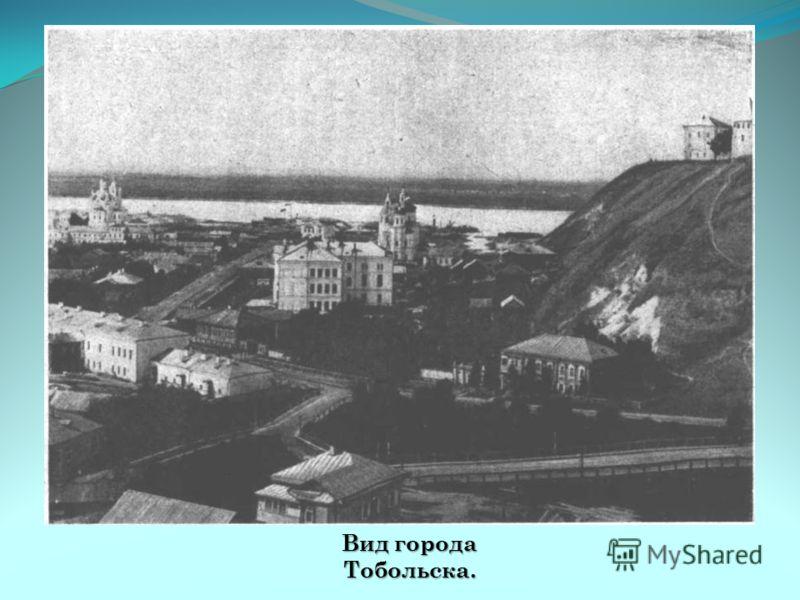 Вид города Тобольска.
