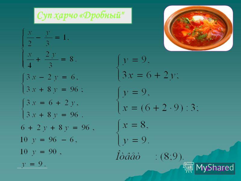 Суп харчо «Дробный 1 БЛЮДО