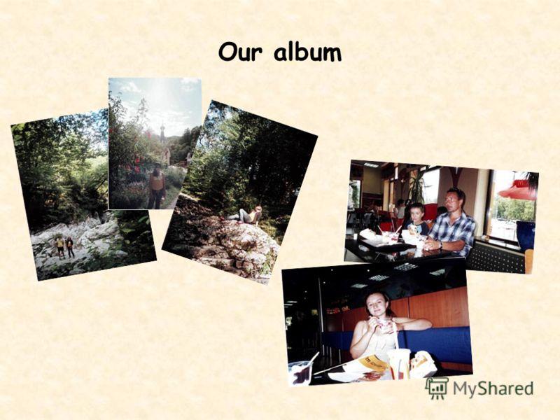 Our album