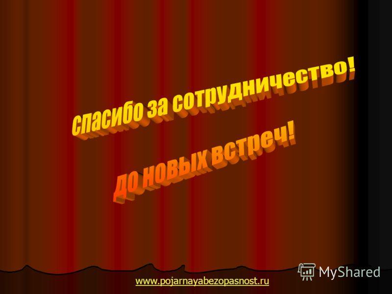 www.pojarnayabezopasnost.ru