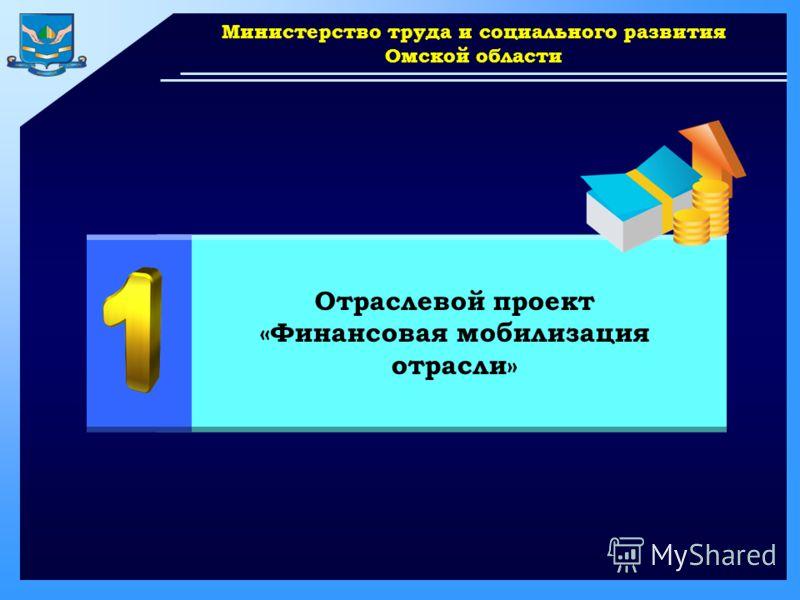 www.themegallery.com Министерство труда и социального развития Омской области Отраслевой проект «Финансовая мобилизация отрасли»