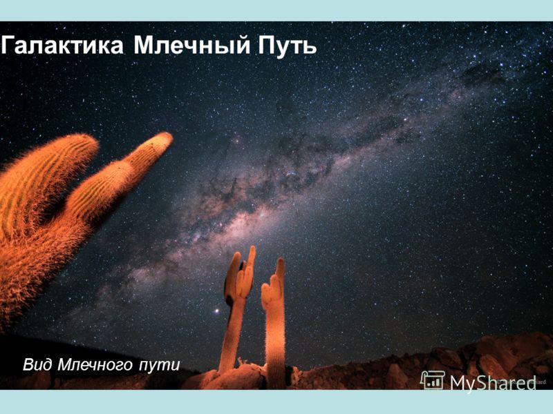 Галактика Млечный Путь Вид Млечного пути