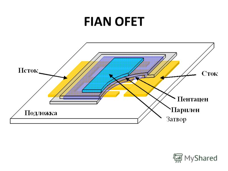 Органический полевой транзистор