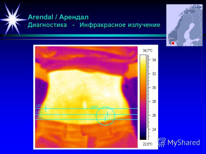 Arendal / Арендал Диагностика - Инфракрасное излучение