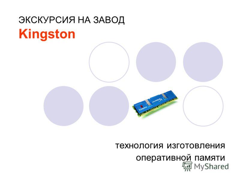 ЭКСКУРСИЯ НА ЗАВОД Kingston технология изготовления оперативной памяти