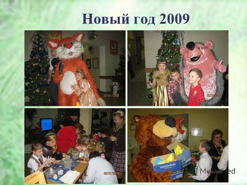 Новый год 2009