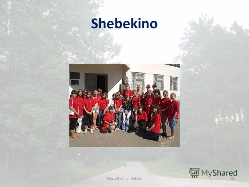 Shebekino Elena Babina, Gubkin18