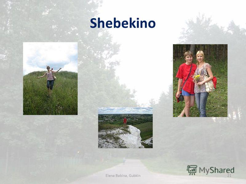 Shebekino Elena Babina, Gubkin21