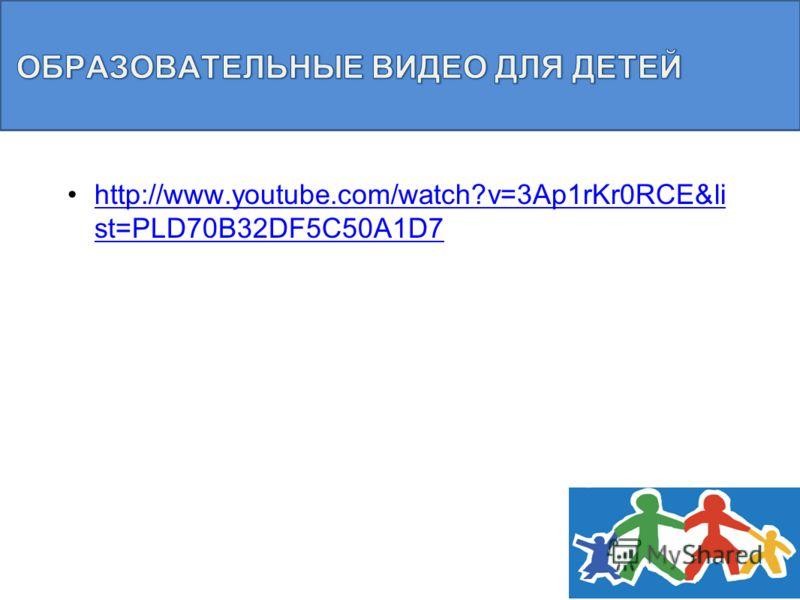 http://www.youtube.com/watch?v=3Ap1rKr0RCE&li st=PLD70B32DF5C50A1D7http://www.youtube.com/watch?v=3Ap1rKr0RCE&li st=PLD70B32DF5C50A1D7