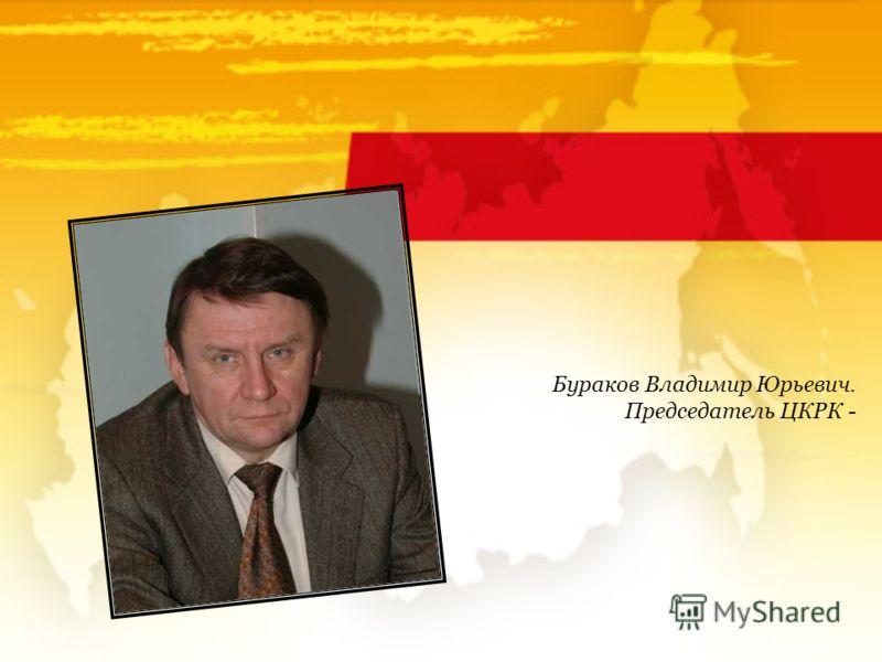 Бураков Владимир Юрьевич. Председатель ЦКРК -