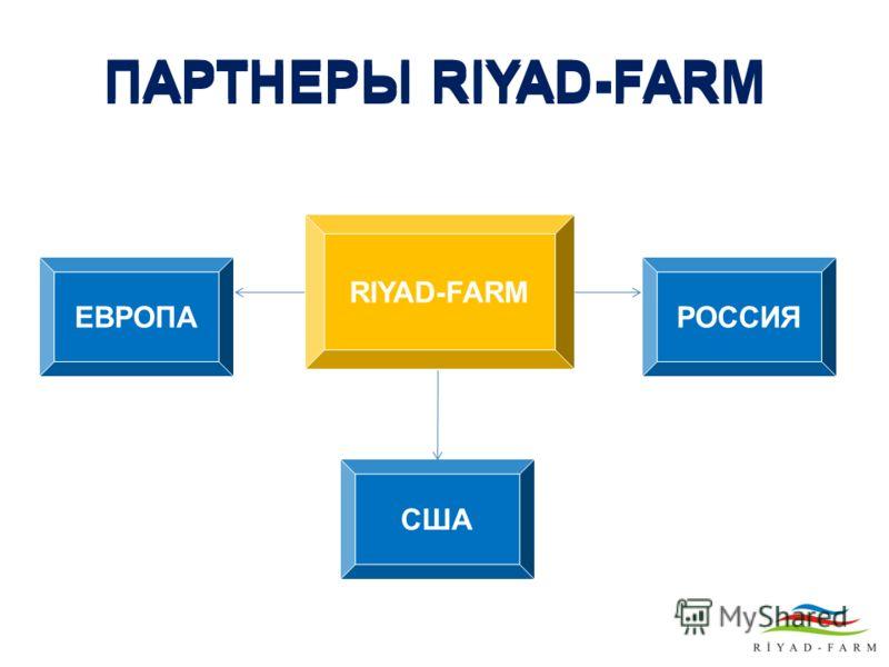 ПАРТНЕРЫ RIYAD-FARM RIYAD-FARM РОССИЯЕВРОПА США ПАРТНЕРЫ RIYAD-FARM