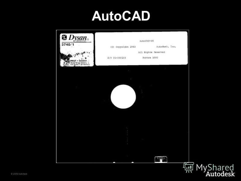 © 2009 Autodesk AutoCAD
