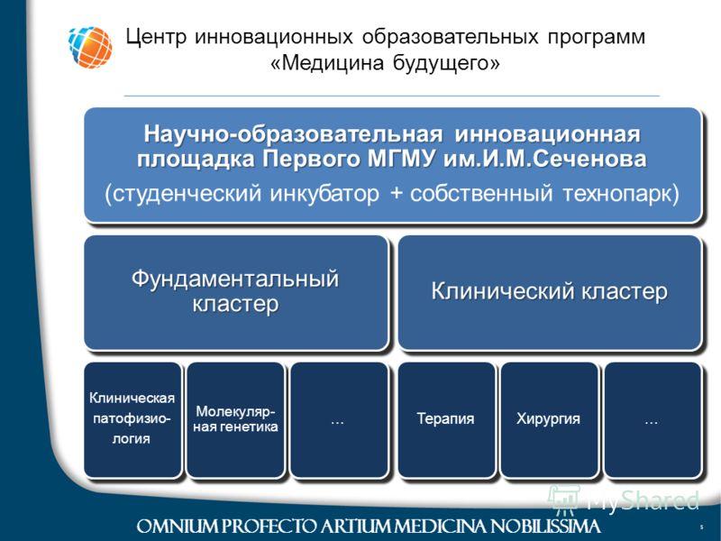 © Advanced Medical Diagnostics 2004-2010 OMNIUM PROFECTO ARTIUM MEDICINA NOBILISSIMA Центр инновационных образовательных программ «Медицина будущего»