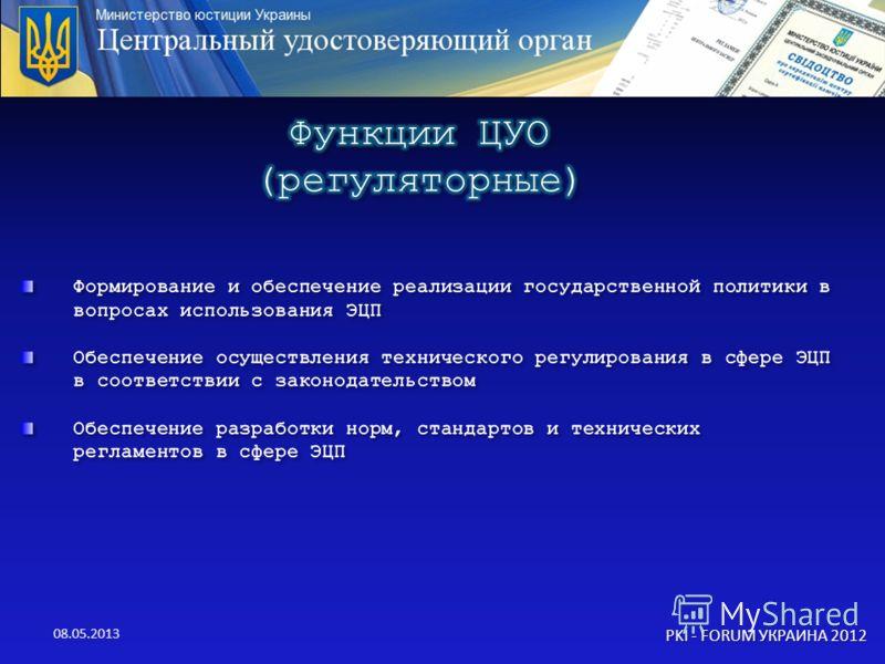08.05.2013 PKI - FORUM УКРАИНА 2012