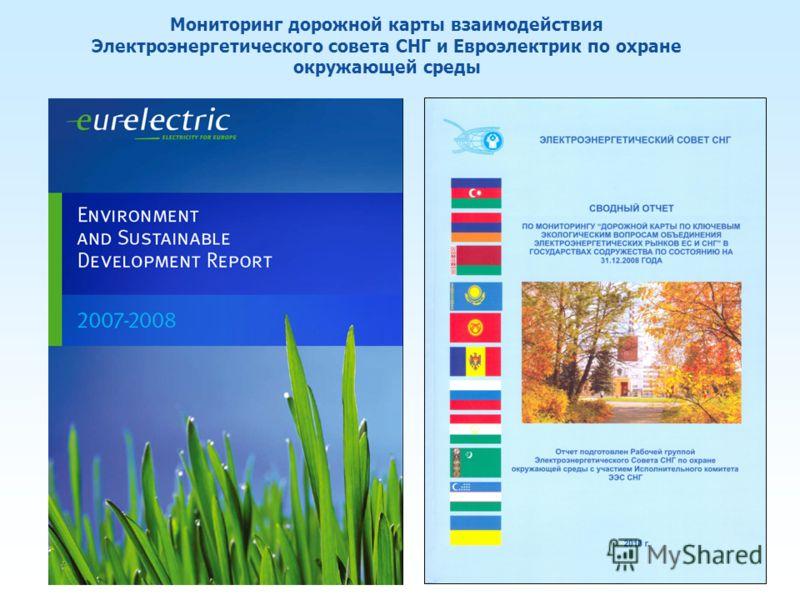 Мониторинг дорожной карты взаимодействия Электроэнергетического совета СНГ и Евроэлектрик по охране окружающей среды