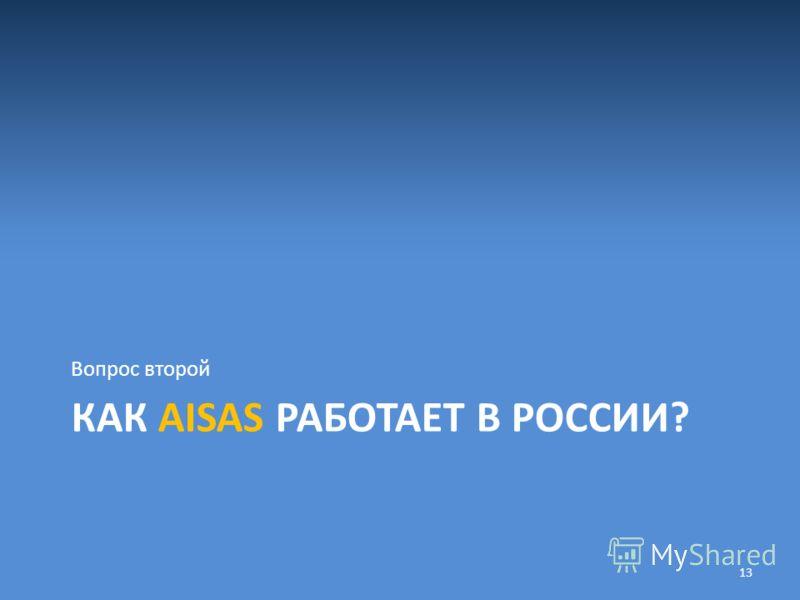 КАК AISAS РАБОТАЕТ В РОССИИ? Вопрос второй 13