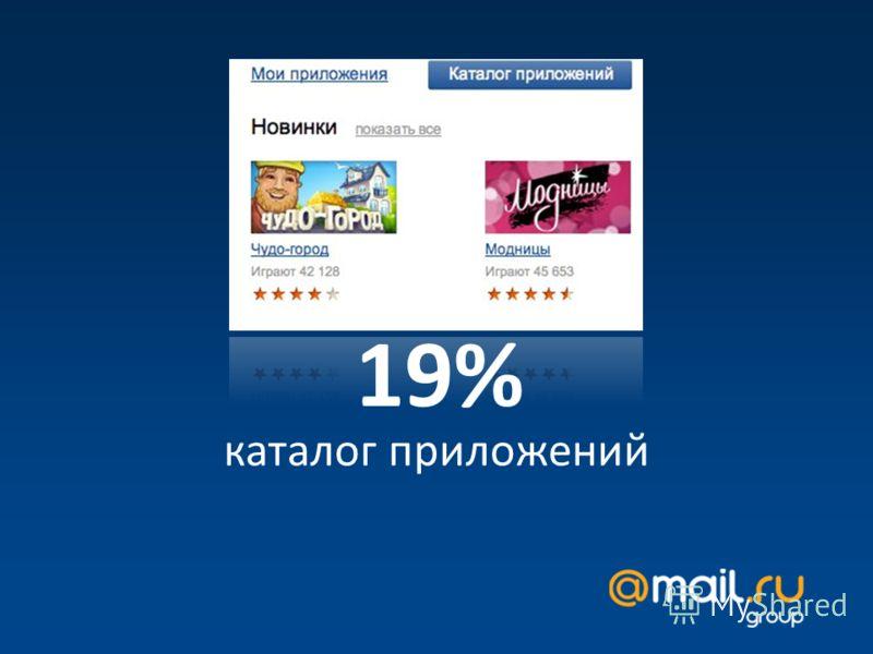 каталог приложений 19%