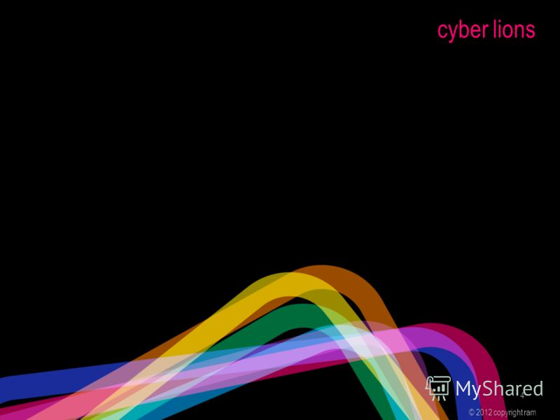 cyber lions © 2012 copyright ram 4
