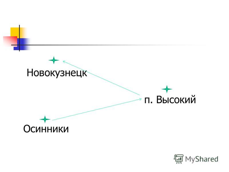 Новокузнецк п. Высокий Осинники