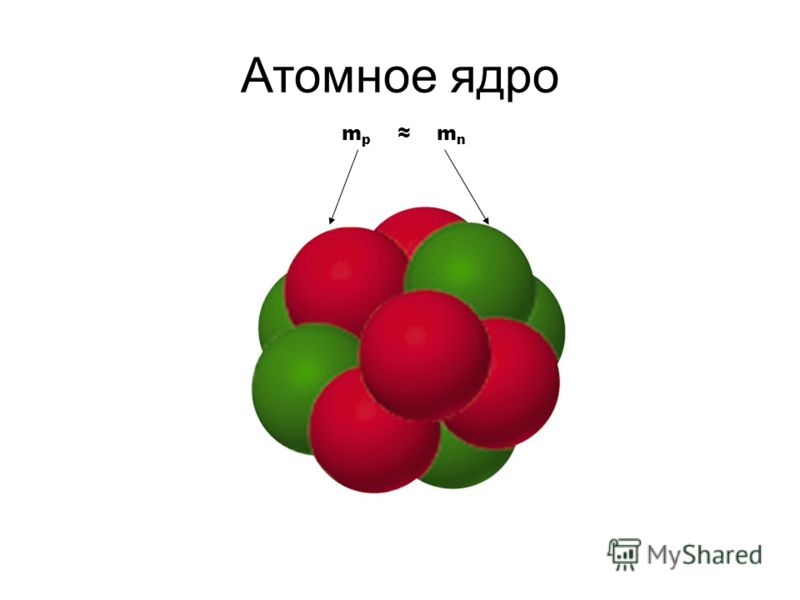 Атомное ядро m p m n