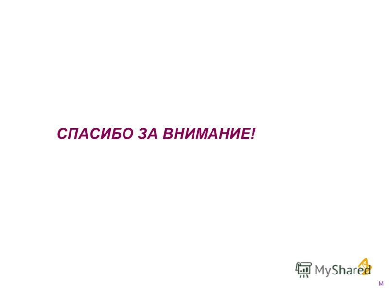 СПАСИБО ЗА ВНИМАНИЕ! м