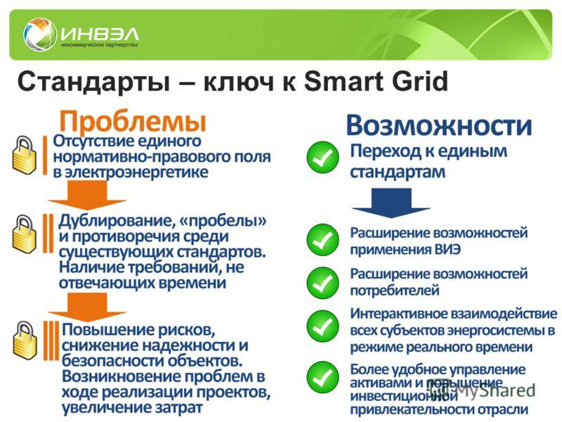 Стандарты – ключ к Smart Grid