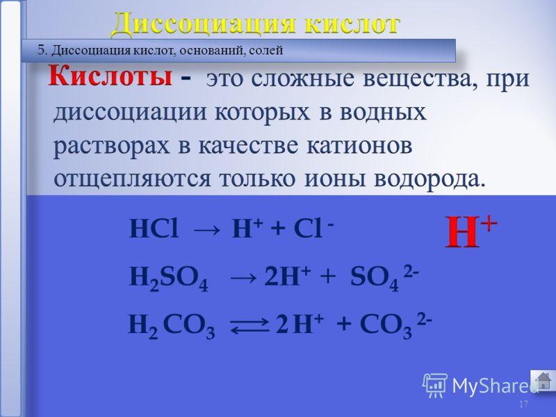 16 2.Сильные и слабые электролиты %