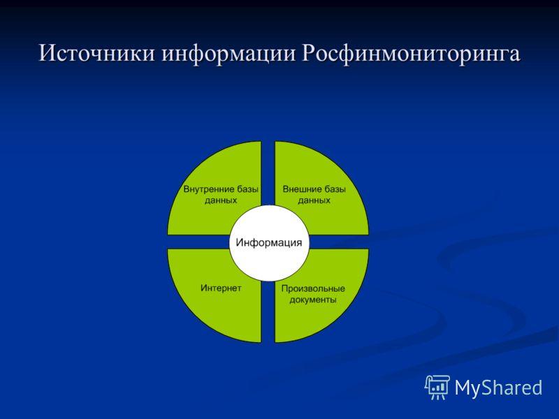 Источники информации Росфинмониторинга