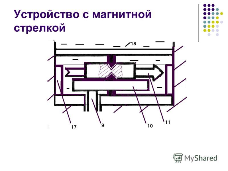 Устройство с магнитной стрелкой