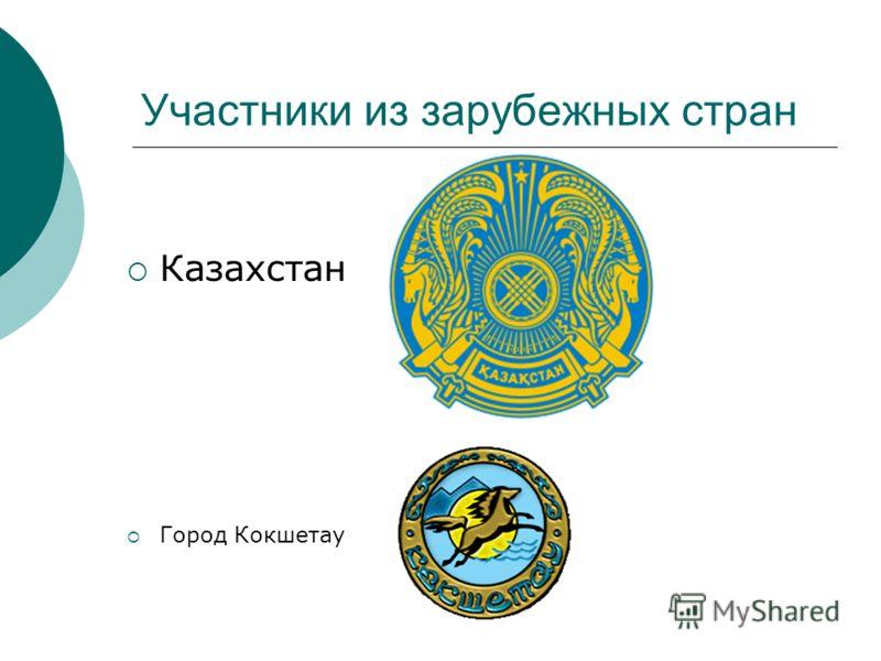 Участники из зарубежных стран Город Кокшетау Казахстан