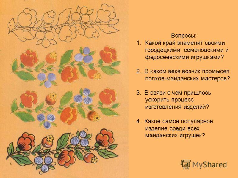 основные элементы полховского майдана