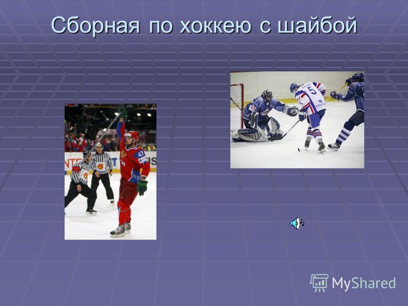 Сборная по хоккею с шайбой
