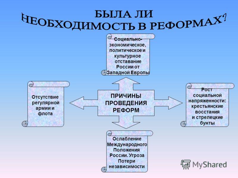 После смерти Алексея Михайловича регентшей при малолетних наследниках становится Царевна Софья Беспорядок в стране, разруха