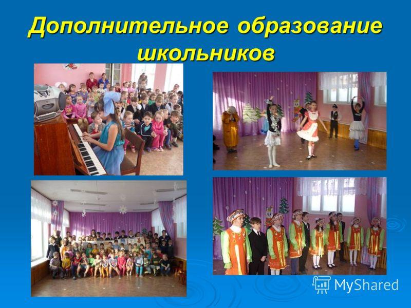 Дополнительное образование школьников